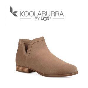 Koolaburra by Uggs Cheyanne Ankle Boots 7 Tan